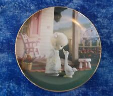 Precious Moments Collection Make A Joyful Noise Plate 1993 Hamilton Collection
