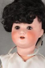 "Antique German Sh Schoenau Hoffmeister Pb Bisque Head Doll Body Composition 24"""