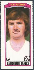 TOPPS-1981-FOOTBALLERS- #161-SWANSEA CITY-LEIGHTON JAMES-TOP SCORER