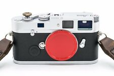 Red painted aluminum Leica M mount camera metal body cap/cover (M10 M9 M8 M7 M6)