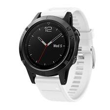 Para Garmin Fenix 5 GPS Recambio Silicage Rápido Instalación Reloj Wirst Correa
