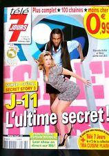 Télé 7 Jours 19/09/2009; Secret Story/ N. Tavernost/ Dubosc-Rousseau/ W. Houston