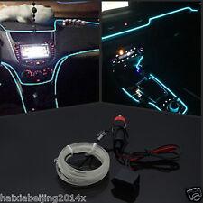 Auto EL Wire ICE BLUE Cold light lamp Neon Lamp Atmosphere Lights Unique Decor