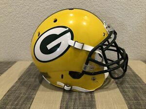 Green Bay Packers Game Issue Style Schutt XP Helmet Size L