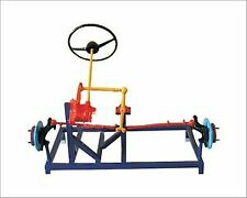 Worm & Roller Type Steering System Actual Working Model - Automobile Eng. Lab