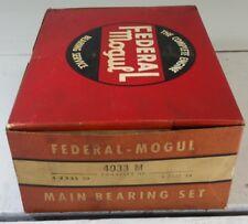 Federal Mogul 4033M Main Bearings Set 1975-78 Dodge Chrysler 400 V8