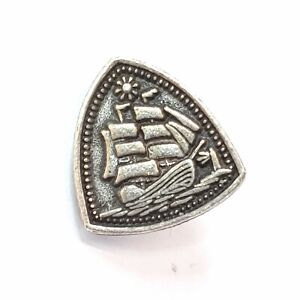 Alex and Ani Steady Vessel Charm Silver Toned Ship Charm Journey Fortune Change