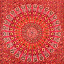 Twin  Indian Mandala Tapestry Bedspread Hippie Bohemian Wall Hanging Throw