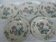 Set of 5 Syracuse China Restaurant Ware  Summerdale Pattern dinner plates