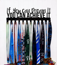If you can Dream it, You can Achieve it - Racing Medal Holder - Color Options