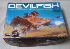 BOX ONLY for WARHAMMER 40K DEVILFISH APC Model Tau Troop Carrier Games Workshop