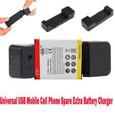 universal de móviles Teléfono Celular Pieza Extra Cargador batería BASE CARGA