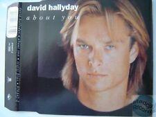 DAVID HALLYDAY about you CD MAXI