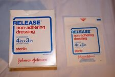 "50 each Non-Adhering Dressing 4in x 3in Sterile ""RELEASE"" (Johnson & Johnson)"