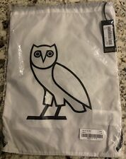 OVO NEW TAG DRAWSTRING BAG WHITE SOLD OUT OCTOBER'S VERY OWN DRAKE