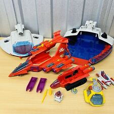 Vintage 1986 MANTA FORCE Bundle Red Venom & Command Ship & Extras Bluebird Toys
