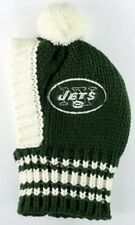 New York Jets  NFL Official Pet Wear Knit Ski Hat for Dogs in Size Large