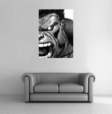 "Incredible Hulk Giant Poster Art Print 35 x 49"""