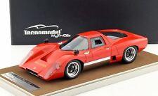 1969 Mclaren M6 GT Rosso Corsa in 1:18 Scale by Tecnomodel