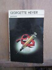 Georgette Heyer: Poison! Librairie Des Champs-Elysees