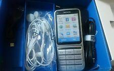 Nokia  C3-01.5 - Silber (ohne Simlock) Handy