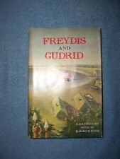 FREYDIS AND GUDRID by Elizabeth Boyer/1st Ed/Literature/Fiction/Drama/Signed