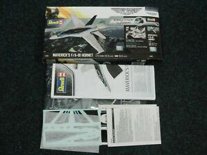 Revell Top Gun Tomcat F/A18 F18 Maverick Model Plane Easy Click Kit 04965