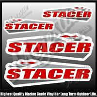 STACER - Set of 4 - DECAL SET - BOAT DECALS