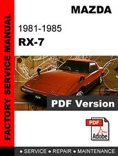 automotive pdf manual ebay stores rh ebay com 1993 mazda rx7 manual for sale