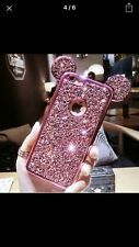 Brand New! Disney Hot Pink Mickey Mouse Ears Iphone 6 Plus Cel Phone Case