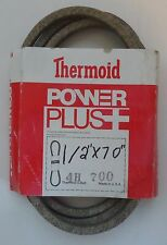 """Thermoid V-Belt 4H-700 Replaces 108505 1713549 1713549SM 57955 62828 (1/2""""X70"""")"""
