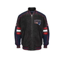 New England PATRIOTS  NFL Colorblocked Suede Jacket by GIII ~ 2XL