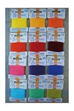 SAJOU RETORS DU NORD 100% coton fil de broderie clair Assortiment 12 couleurs