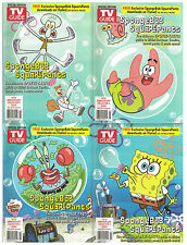 TV Guide Spongebob SquarePants 10th Anniversary Collector's Edition 4 Cover Set