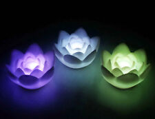 1pc Hot Sale Romantic 7-Color Changing Lotus Flower Pattern LED Light Mini Lamp