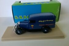 Eligor 1/43 Scale Diecast Model 1070 Ford V8 Camionnette 1934 Food Service