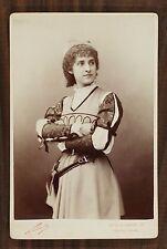 Jeanne Andrée Malvau, Actrice Théâtre, Cabinet card, Photo Nadar Paris
