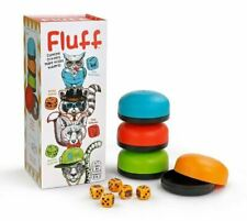 Bananagrams FLUFF Liar's Dice for Cunning Critters - Family Rolling Dice Game