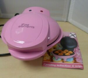 Five Elements Pink CupCake Maker Works untested E10T