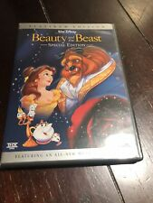 Disney BEAUTY AND THE BEAST Platinum Edition Special 2-Disc DVD Set - VGUC