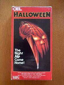 Halloween VHS Australian CEL Carton Card Box Horror Cult PAL Video