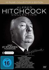 15 Klassiker ALFRED HITCHCOCK Paradin BERÜCHTIGT Rebecca ICH KÄMPFE UM.. DVD Box