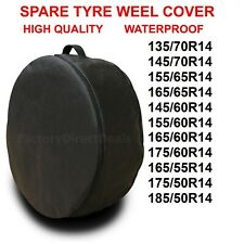 """R14""""  SPARE TYRE COVER WHEEL PROTECTIVE TYRE BAG SPACE SAVER FOR ANY CAR D52"""