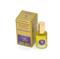 Gold Anointing Oil Spikenard 12ml From Holyland Jerusalem - Limited Edition