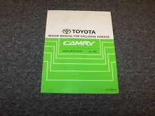 2005-2006 Toyota Camry Shop Service Collision Damage Repair Manual LE SE XLE
