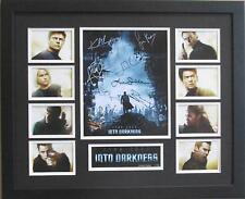 STAR TREK INTO DARKNESS CAST SIGNED LIMITED EDITION FRAMED MEMORABILIA