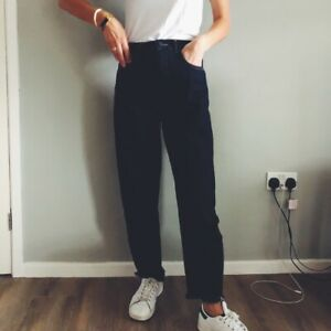 Womens Whistles Blue High Waist Barrel Jeans Denim Casual Trousers 6 to 22 £95