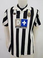 MAGLIA CALCIO SHIRT JUVENTUS KAPPA NR.3 1998/1999 FOOTBALL ITALY SOCCER OLD I112