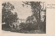 e england cumberland old postcard english cumbria swan hotel newby bridge