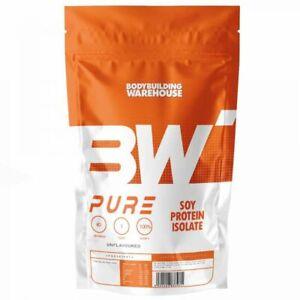 BBW Pure Soy Protein Isolate 90% - 2kg Powder - Alternative to Whey Protein